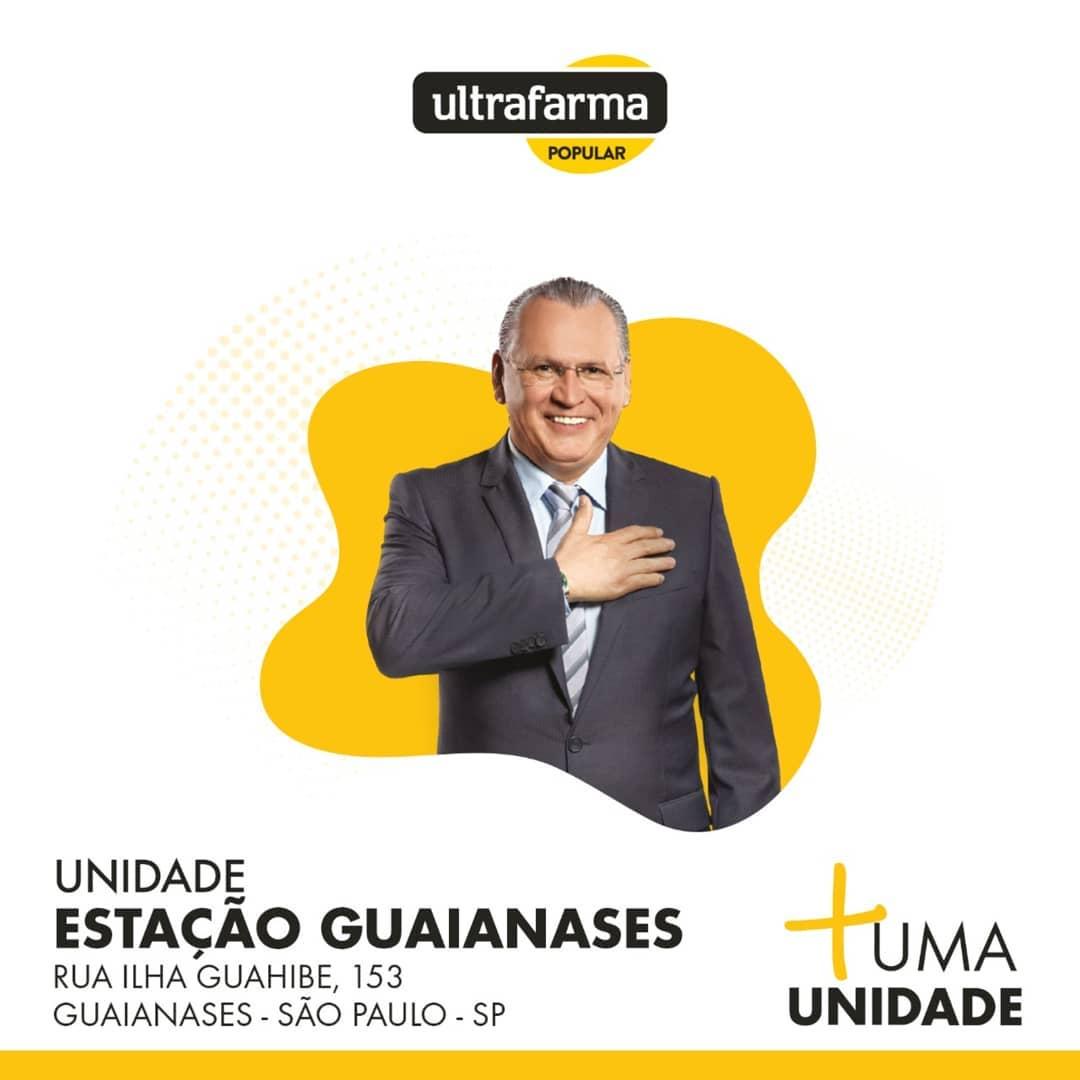 São Paulo ganha mais três unidades da Ultrafarma