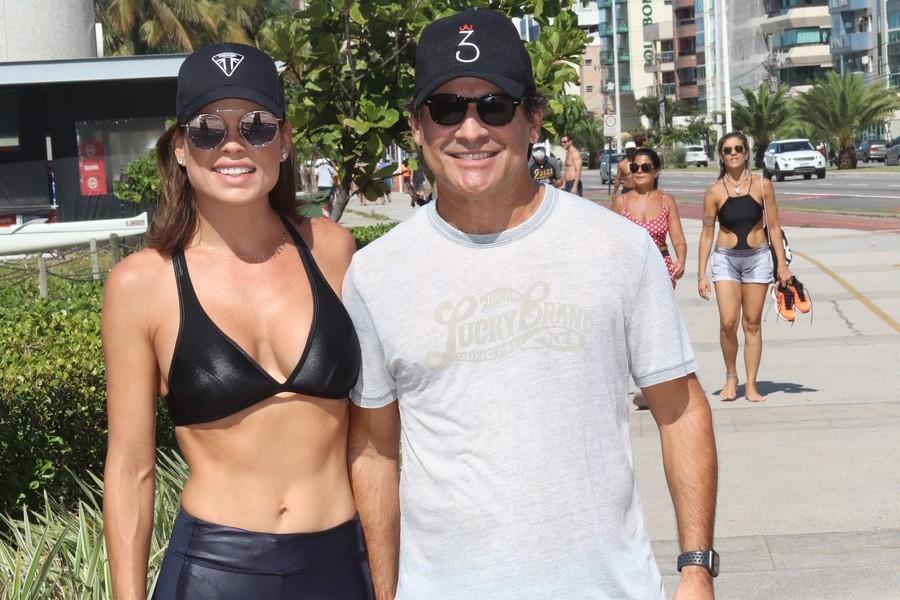 Andressa Allen e Netto Soares