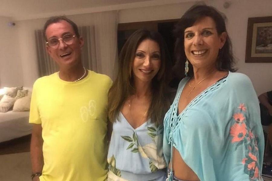 Fred Barcellos, Kris Junqueira e Tatá Bachour