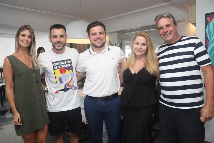 Larissa e Raphael, Erick, Penha e Weverton Coser