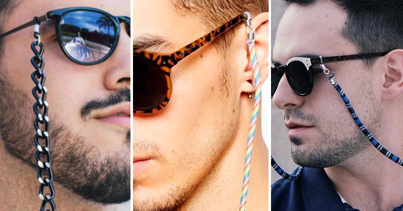 b66a09c34fcc9 Destaque nas passarelas da última edição da São Paulo Fashion Week, as  cordinhas de óculos dos tempos da vovó caíram no gosto dos jovens  descolados.