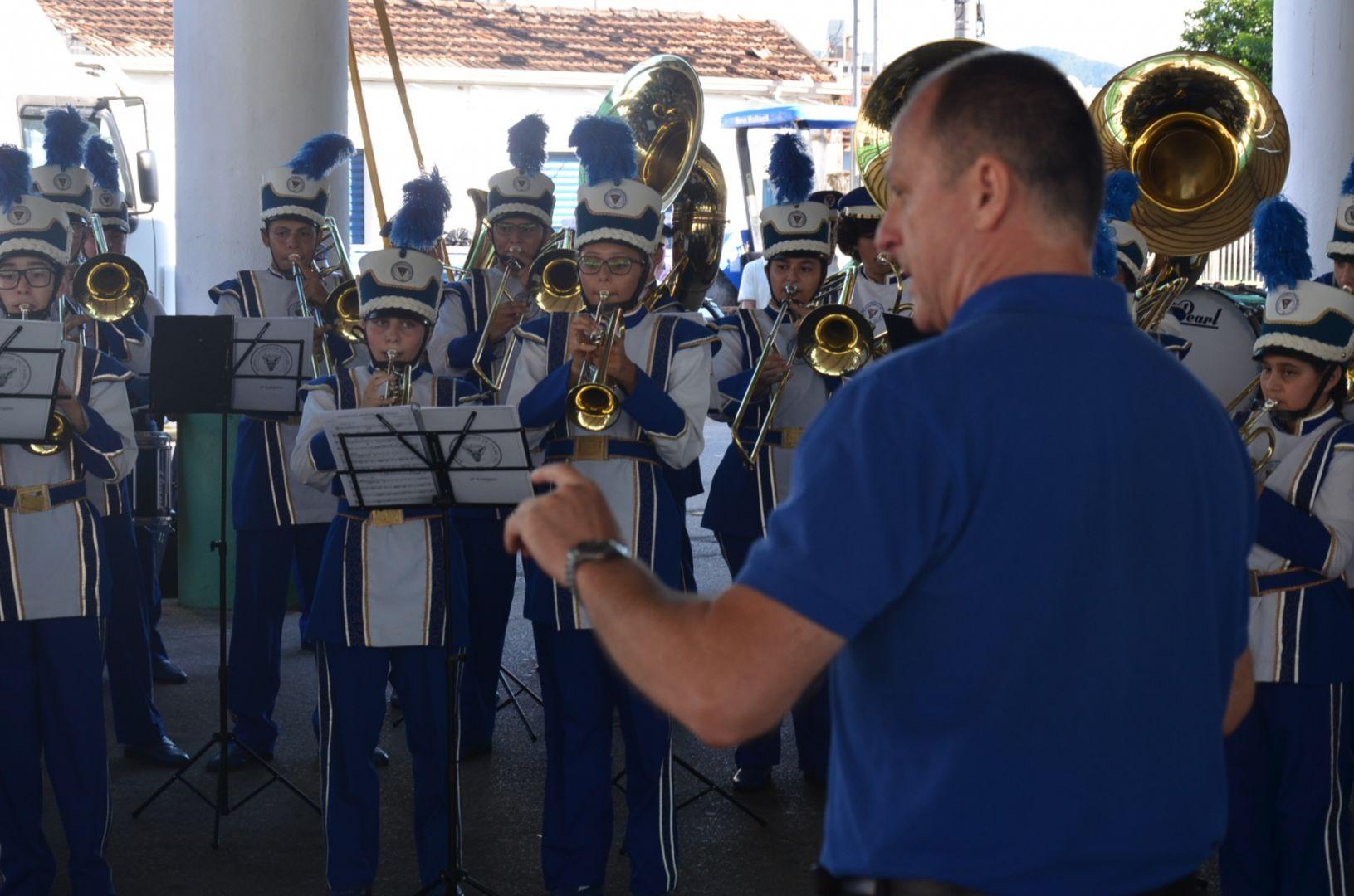 1º Encontro de Bandas Marciais, realizado em 2018